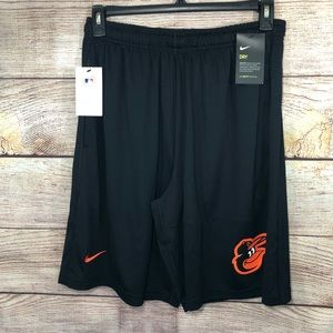 Nike Baltimore Orioles Dry Fit Shorts